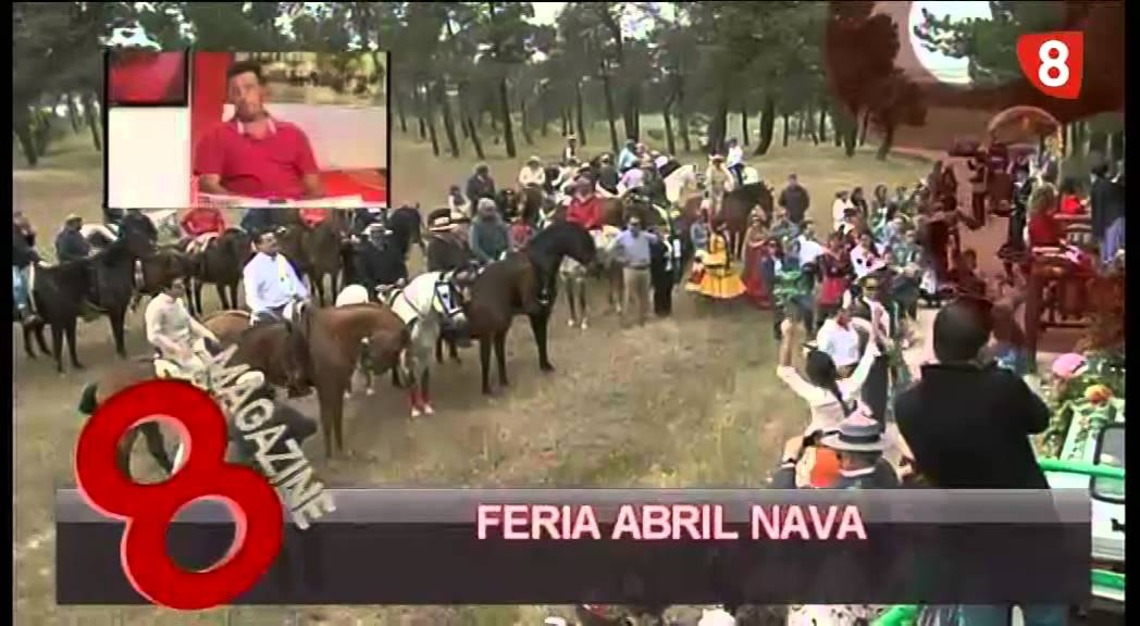 ENTREVISTA FERIA DE PRIMAVERA EN NAVA DE LA ASUNCIÓN - YouTube