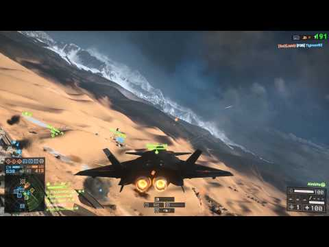 Battlefield 4 - Air domination on Silk Road - J-20 with 20mm Canon post patch (14.01.2014)