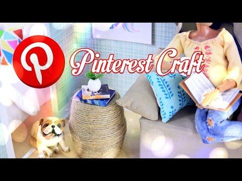 diy---pinterest-craft---how-to-make:-dollhouse-table---handmade---decor---4k