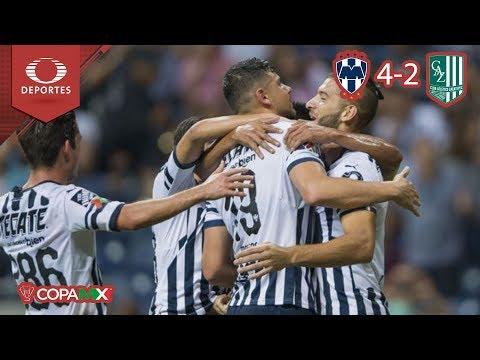 ¡Rayados en cuartos de final! | Monterrey 4 - 2 Zacatepec | Copa MX - Octavos | Televisa Deportes
