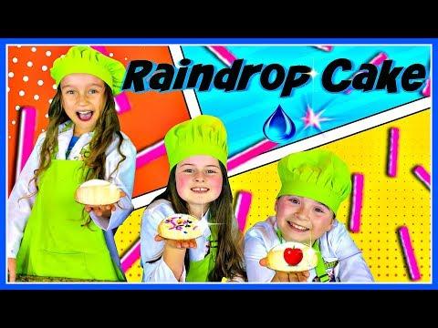RAINDROP CAKE RECIPE ! Edible Water Cake Recipe