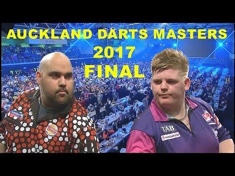 Anderson v Cadby FINAL 2017 Auckland Darts Masters