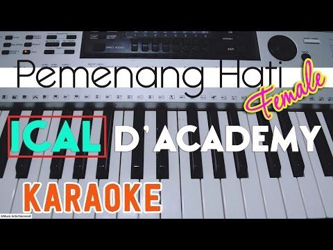 Ical - Pemenang Hati FEMALE (Karaoke Lirik Chord) By GMusic