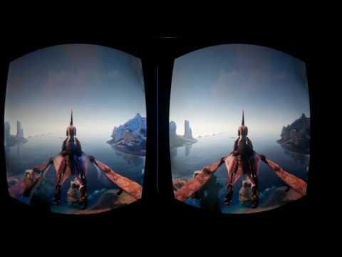 Ark Survival Evolved в очках виртуальной реальности VR BOX.