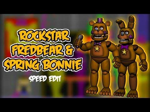 [FNaF 6] Speed Edit - Rockstar Fredbear & Spring Bonnie |