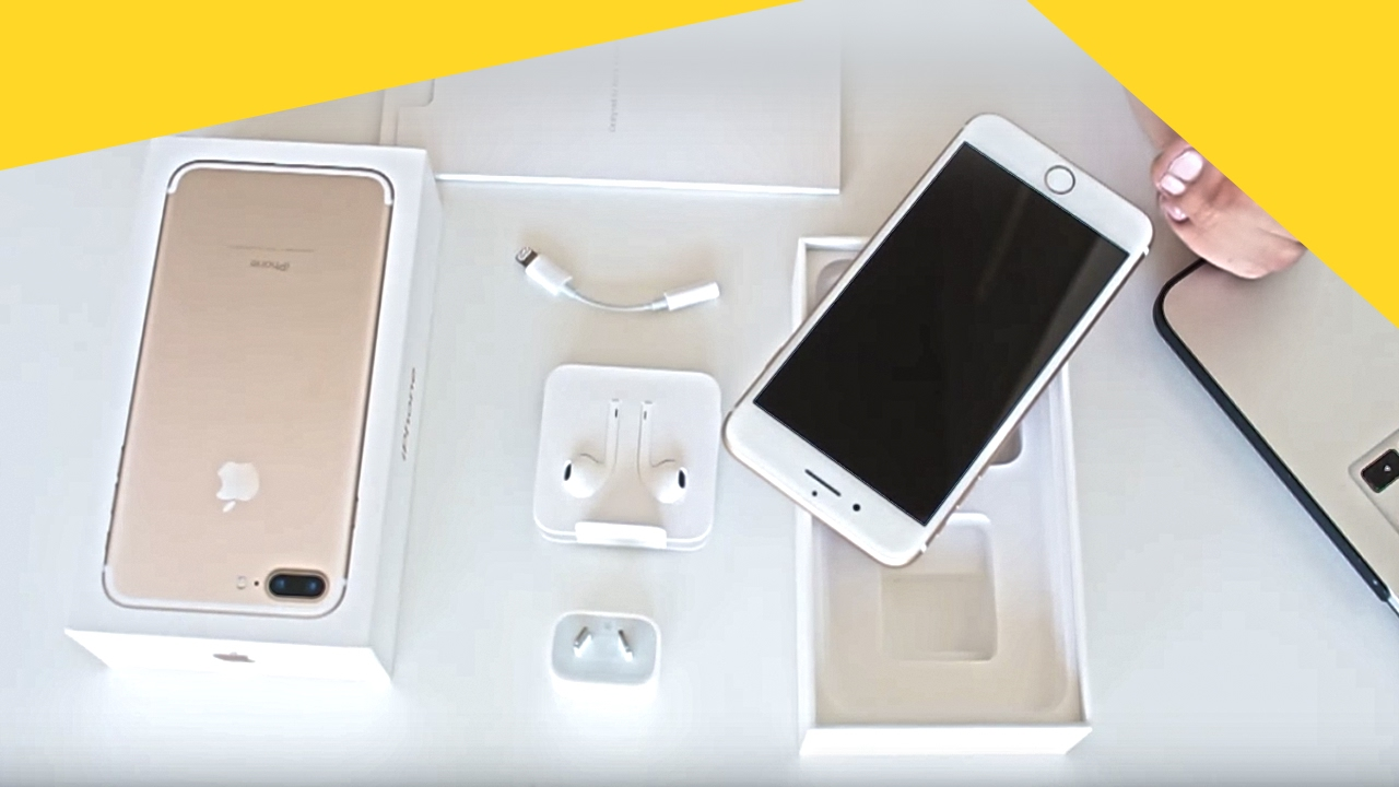 UNBOXING IPHONE 7 PLUS | unboxing iphone 7 plus and review