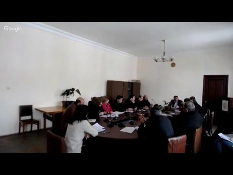 Ավագանու նիստ 15․01․2018