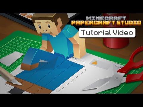 Tutorial - Minecraft Papercraft Studio