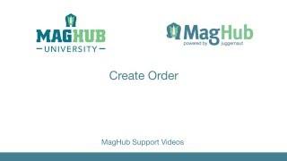 Create Print Ad Order