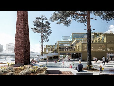 Henning Larsen Architects reveals £400 million Belfast waterfront masterplan