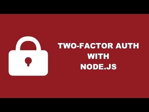 Two Factor Authentication With TOTP Using Node.js And Speakeasy