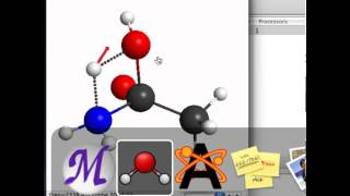 Finding a transition state of acetamide hydrolysis