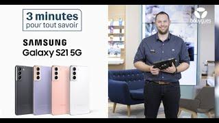 Tout savoir sur le Samsung Galaxy S21 5G avec Cédric I Bouygues Telecom