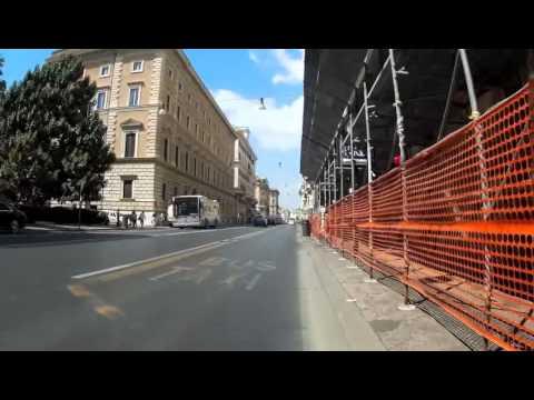 Bike ride in Rome