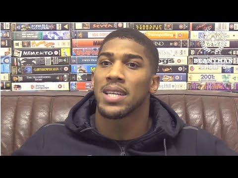 ANTHONY JOSHUA TO SIGN 100 MILLION EXTENSION & Random Talk