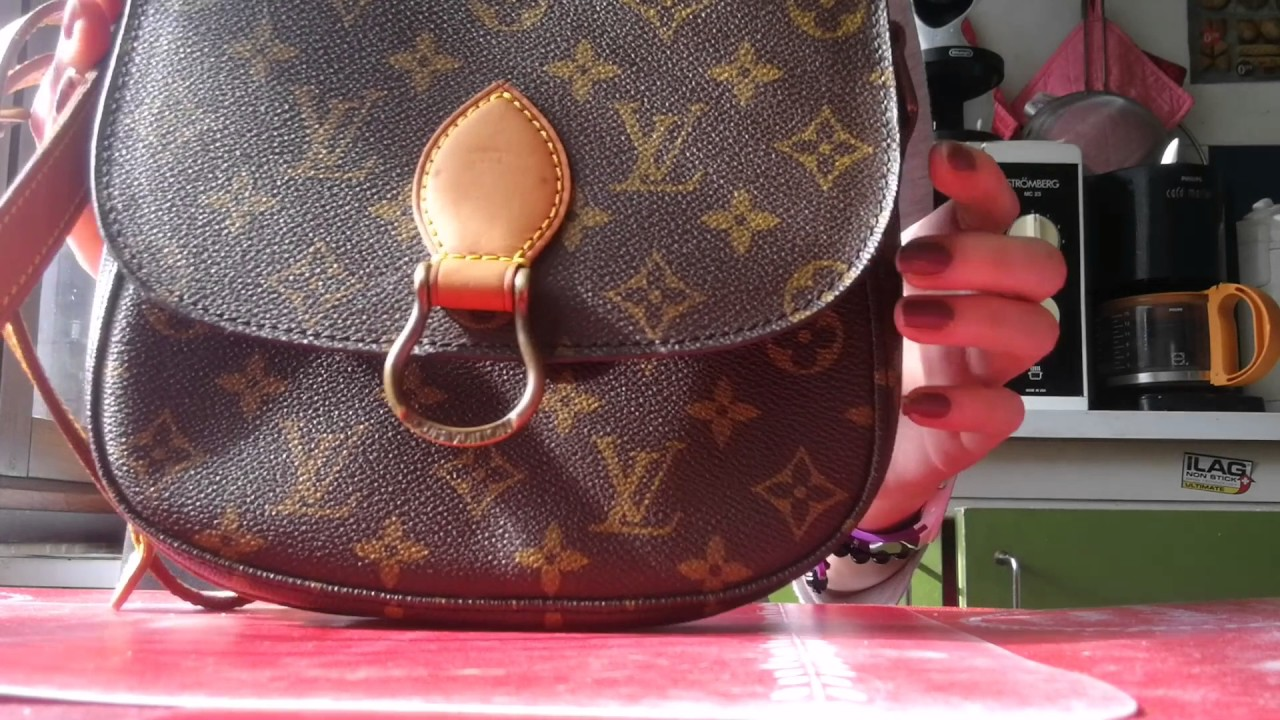1ed67d289d00 saint Cloud pm Louis Vuitton - YouTube