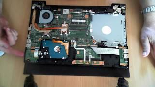 Toshiba Satellite Pro R50-C Opening / Teardown