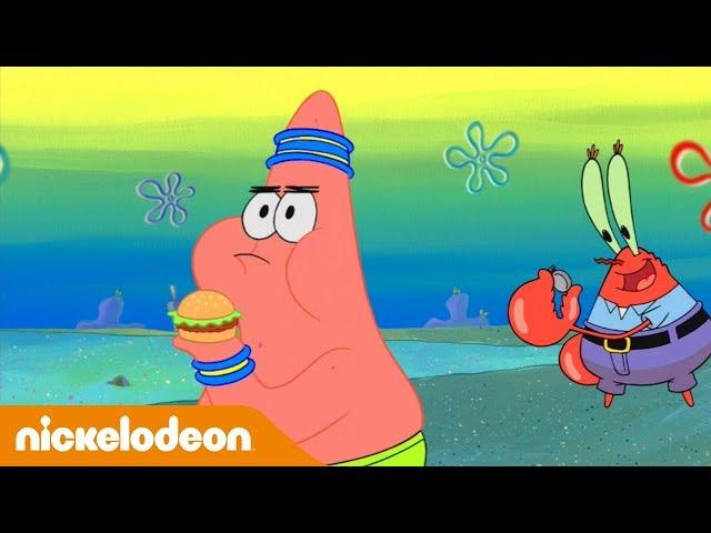 SpongeBob Squarepants | Burgercursus | Nickelodeon Nederlands