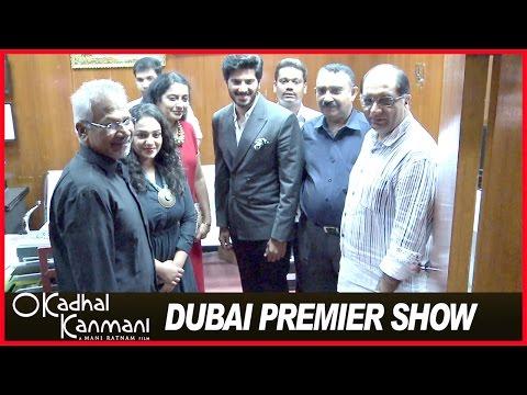 OK Kanmani - Tamil Movie 2015 | Premier Show at Dubai | Dulquer | Nithya Menen | Mani Ratnam