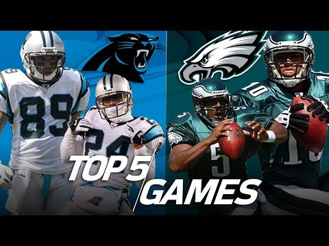 Top 5 Eagles vs. Panthers Games All-Time | NFL Highlights