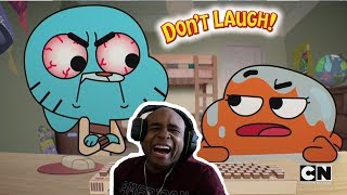 Try Not To Laugh Challenge The Best Of The Amazing World Of Gumball #5