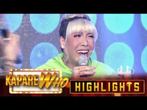 Vhong spills ketchup on Vice's hair | It's Showtime KapareWho