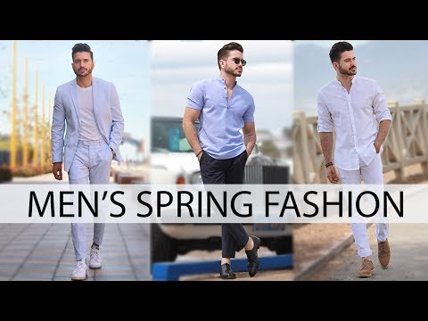 MEN'S OUTFIT INSPIRATION | SPRING FASHION LOOKBOOK 2017 | Alex Costa