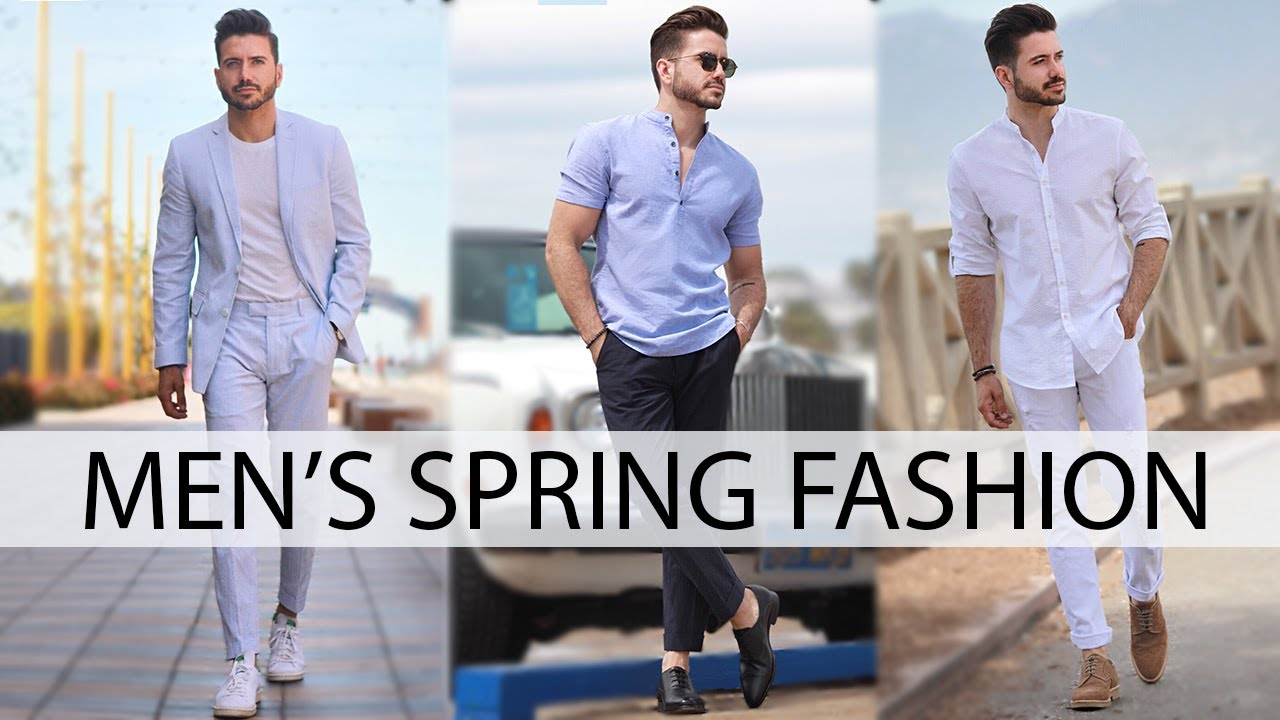 Men S Outfit Inspiration Spring Fashion Lookbook 2017 Alex Costa Youtube