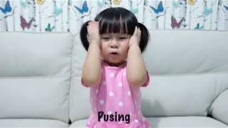 [ Baby Belle Zhuo ] 1st Lesson with Daddy