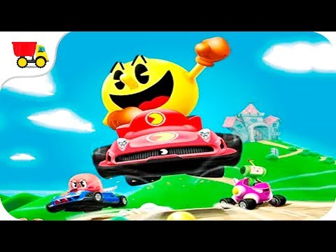 Car Racing Games - PAC-MAN Kart Rally By Namco - Gameplay Android Free Games