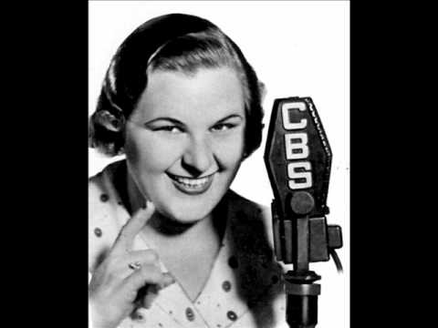 Kate Smith - When the Moon Comes Over the Mountain  (with lyrics)