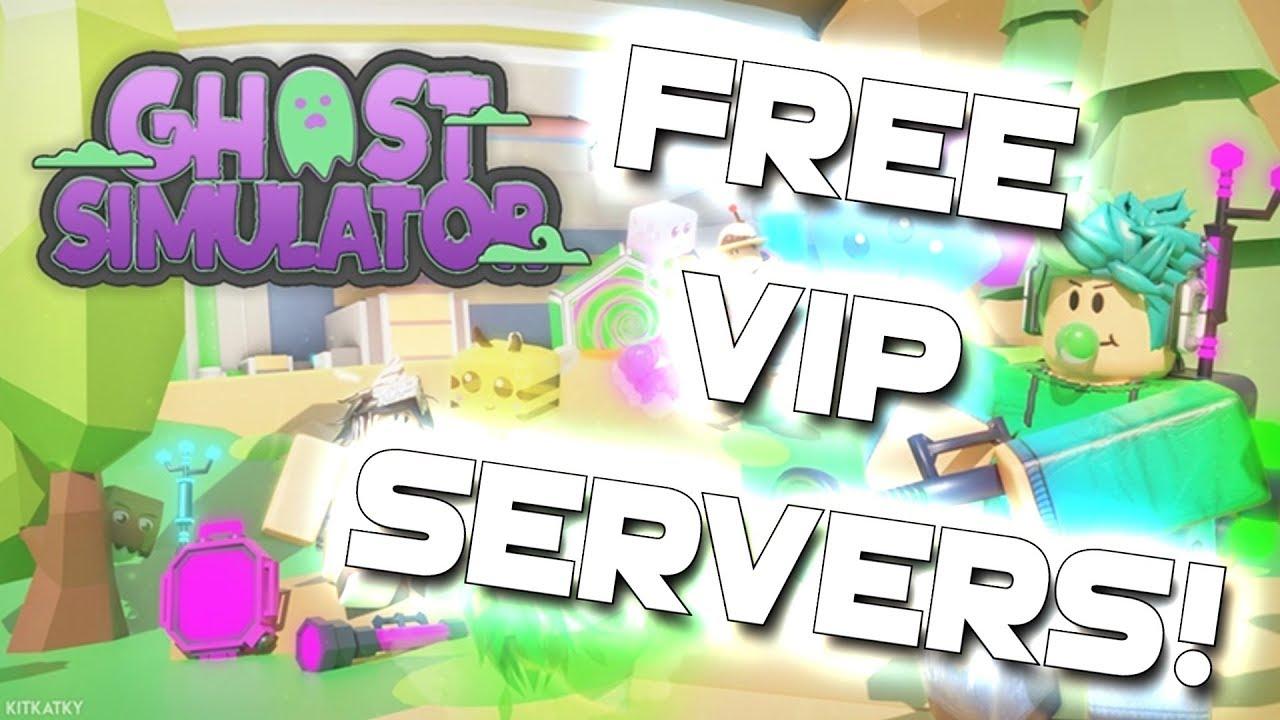 Roblox Ghost Simulator 👻 FREE VIP SERVERS!