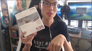 Fake Shure SE535 Limited Edition Unboxing & Review