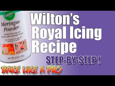 Wilton's Royal Icing Recipe