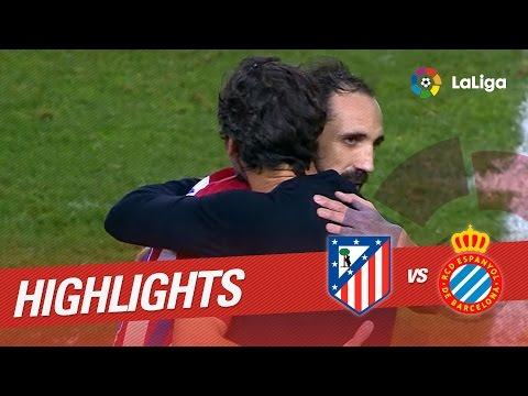 Resumen de Atlético de Madrid vs RCD Espanyol (0-0)