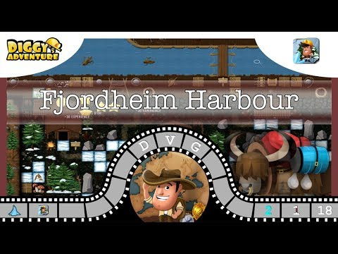 Scandinavia main #18 Fjordheim Harbour - Diggy's Adventure
