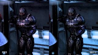 Mass Effect 3 Wii U vs. PlayStation 3 Comparison Video