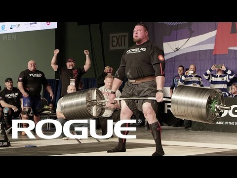 2017 Rogue Record Breaker Deadlift - Jerry Pritchett / 4K
