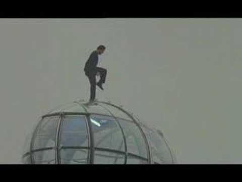 David Blaine at London Eye