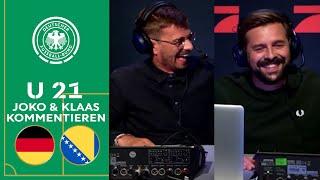 Lachflash garantiert! Joko und Klaas kommentieren die U 21 gegen Bosnien-Herzegowina