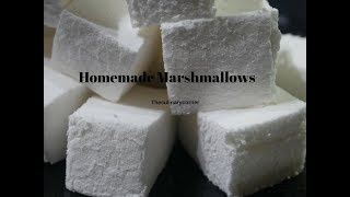 Home made Marshmallow ( with subtitles.)