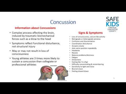 Preventing Concussions, Dehydration & Overuse Injuries in Youth Sports