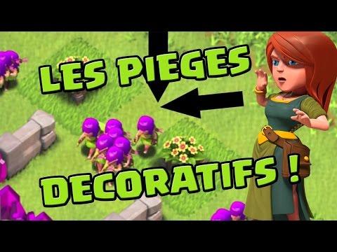 Transforme tes décorations en véritables pièges à troupes ! | Clash of Clans | Français