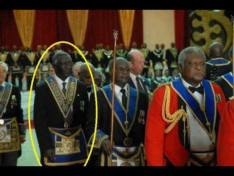 President Kufuor reveals he is a freemason