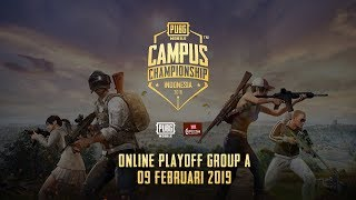 PUBG Mobile Campus Championship - Online Playoff Group A
