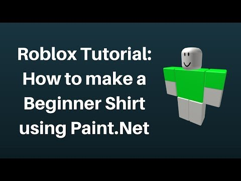 Tutorial How To Make A Shirt On Roblox 2017 Doovi