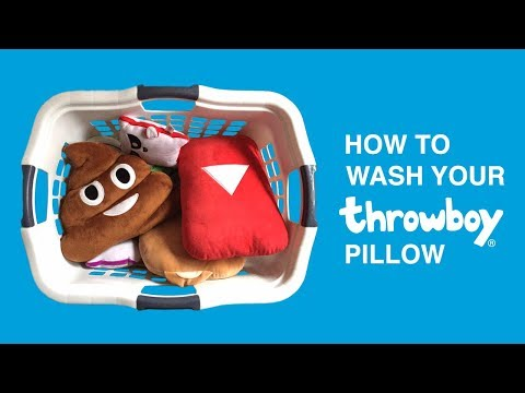 How To Wash A Throwboy Pillow