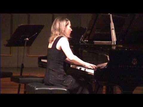 Natalya Pasichnyk plays Brahms - Intermezzo Aces minor, op. 118 no. 6