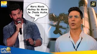 John Abraham's Awesome Reply On Akshay Kumar Mission Mangal Clash With Batla House