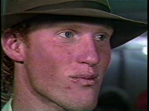 Todd Marinovich post-game interview - YouTube